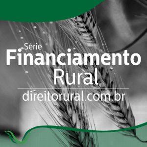 Financiamento Rural - capa dos artigos